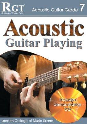 RGT ACOUSTIC GUITAR PLAYING GR 7 BK/CD