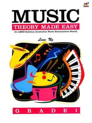 Music Theory Made Easy Grade 1