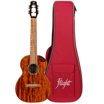 Flight Mustang Tenor EQ Ukulele with Bag