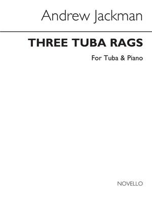 Jackman 3 Tuba Rags Tuba & Piano(Arc)