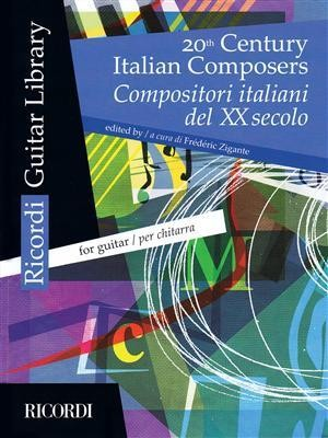 20TH CENTURY ITALIAN COMPOSERS FOR GUITAR