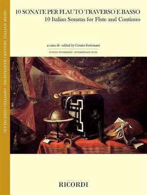 10 Italian Sonatas for Flute and Continuo