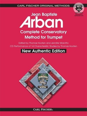 ARBAN COMPLETE METHOD TRUMPET BK/CD SPIRAL