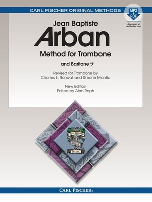 ARBAN METHOD TROMBONE BK/OLM SPIRAL