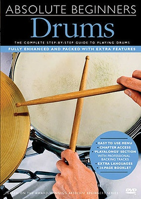 Absolute Beginners - Drums DVD