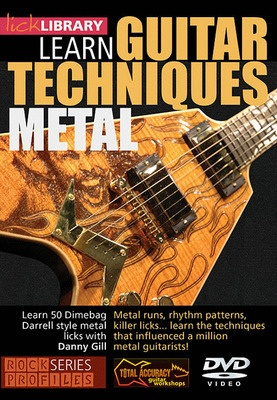 937a398f67bb Dimebag Darrell Guitar Techniques Dvd