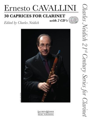 30 CAPRICES FOR CLARINET BK/2CDS