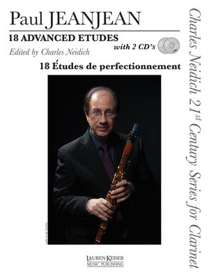 18 ADVANCED ETUDES FOR CLARINET BK/2CDS