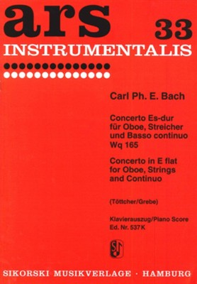 Concerto in E flat major Wq 165