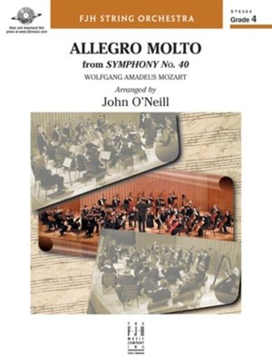 ALLEGRO MOLTO FROM SYMPHONY NO 40 SO4 SC/PTS