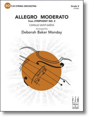 ALLEGRO MODERATO FROM SYMPHONY NO 3 SO4 SC/PTS