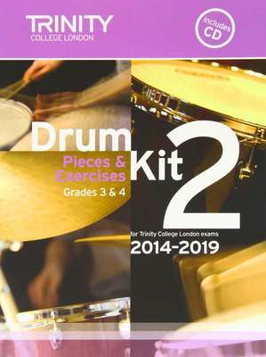 Drum Kit 2 Pieces & Exercises Grades 3 & 4