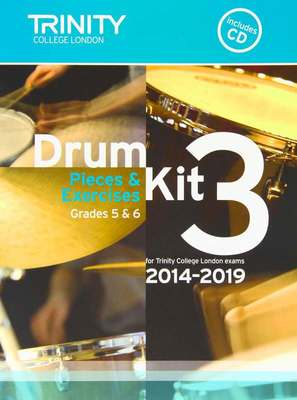 Drum Kit 3 Pieces & Exercises Grades 5 & 6