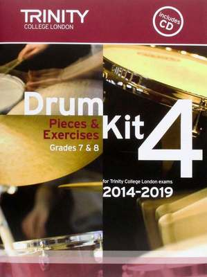 Drum Kit 4 Pieces & Exercises Grades 7 & 8