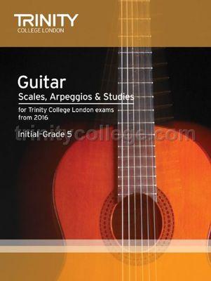 GUITAR SCALES ARPS STUDIES INITIAL GR 5