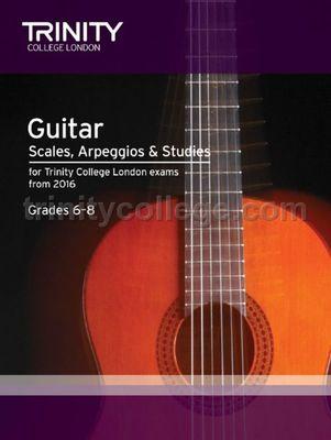 GUITAR SCALES ARPS STUDIES GR 6 8