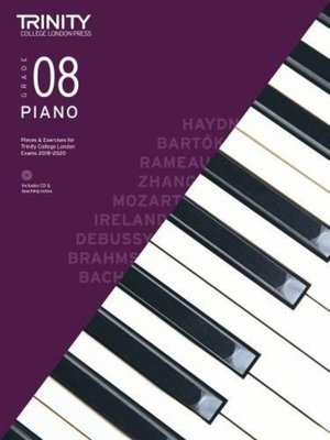 Cheap music books piano pieces exercises gr 8 2018 2020 bkcd fandeluxe Image collections