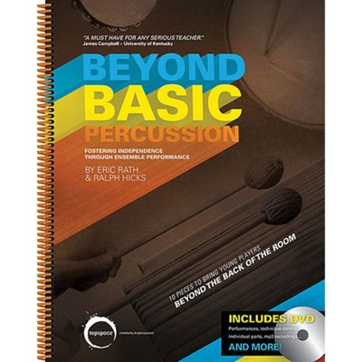 BEYOND BASIC PERCUSSION BK/DVD