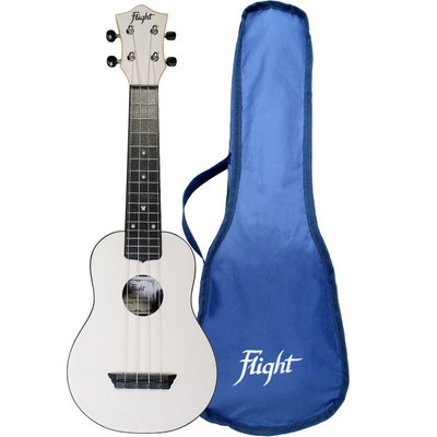 Flight TUS35 ABS Travel Ukulele White