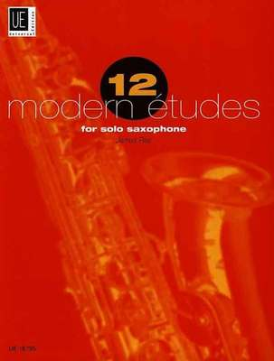 12 Modern Etudes for Solo Saxophone