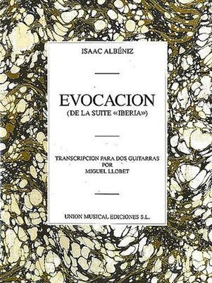 152bb1a376a9 Albeniz Evocacion 2 Guitars (Llobet)