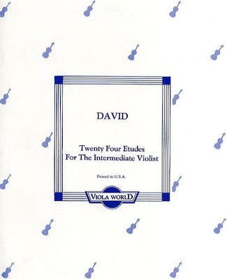 24 Etudes for the Intermediate Violist
