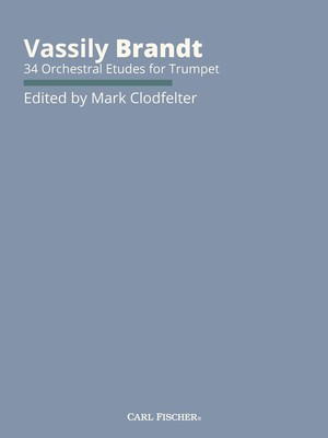 34 Orchestral Etudes for Trumpet