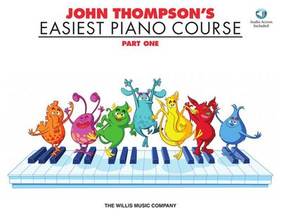 EASIEST PIANO COURSE PART 1 BK/CD