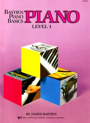 Bastien Piano Basics, Piano, Level 1