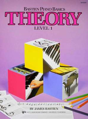 Bastien Piano Basics, Theory, Level 1