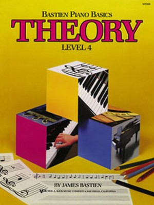 Bastien Piano Basics, Theory, Level 4
