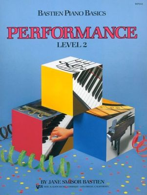 Bastien Piano Basics, Performance, Level 2