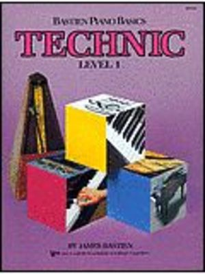 Bastien Piano Basics, Technic, Level 1