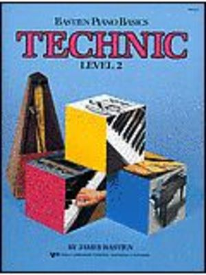 Bastien Piano Basics, Technic, Level 2