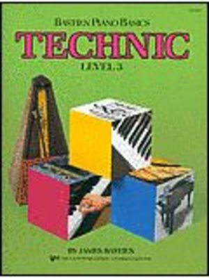 Bastien Piano Basics, Technic, Level 3