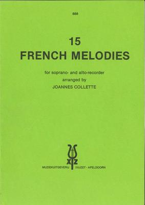 15 FRENCH MELODIES RECORDER DUET