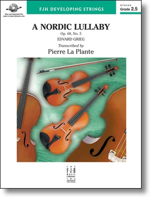 A NORDIC LULLABY OP 68 NO 5 SO2 5 SC/PTS